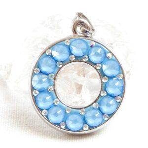 Matně modrý kruh